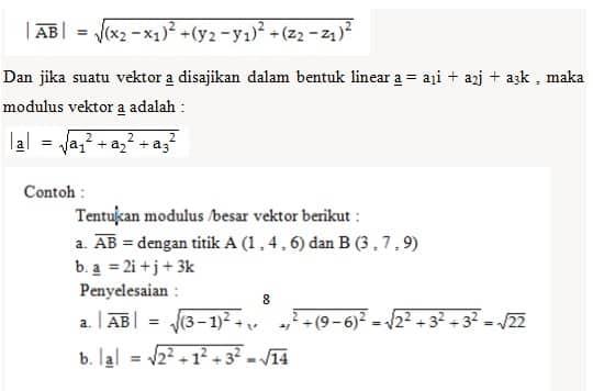 Modulus-Vektor