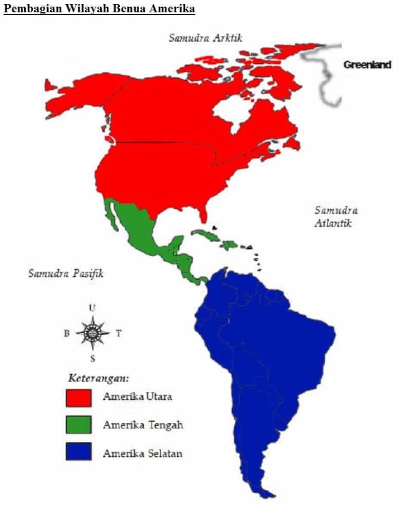 Pembagian-Wilayah-Benua-Amerika