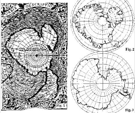 Pembuatan-Peta-Antartika-oleh-Oronteus-Finaeus