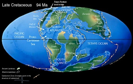 Periode-Cretaceous