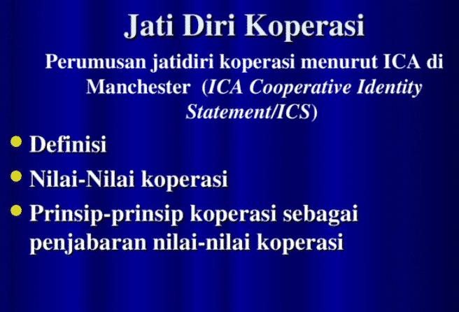 Prinsip-Koperasi