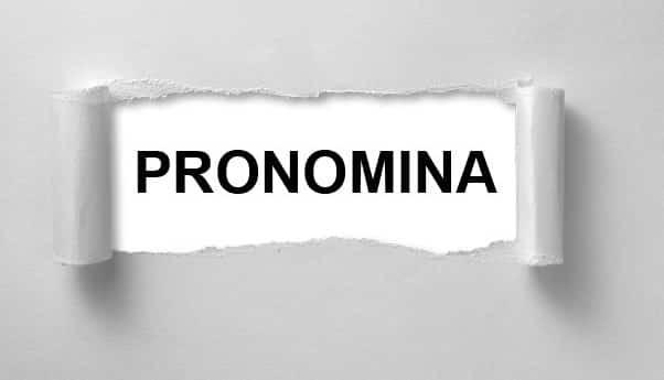 Pronomina-Adalah