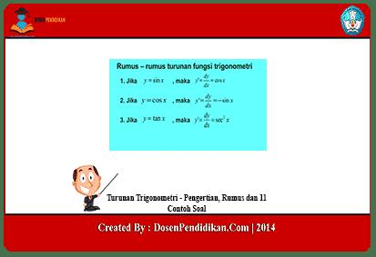 Turunan-Trigonometri