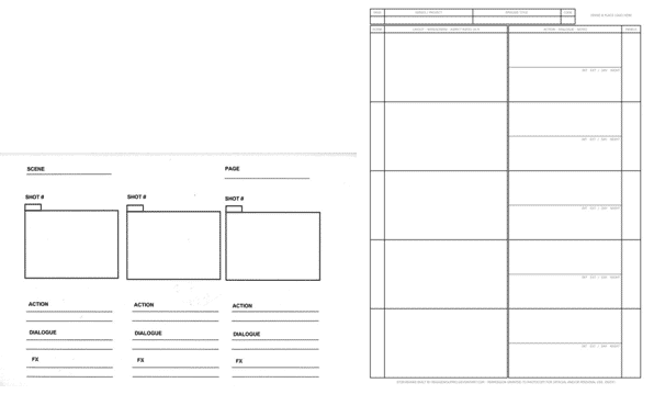 Template-Storyboard
