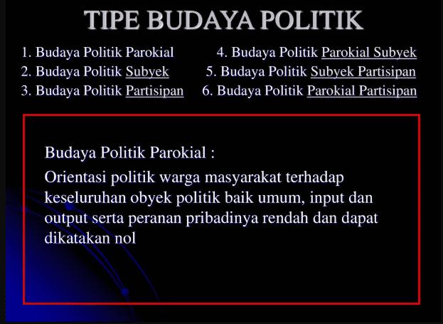 Tipe-tipe-Budaya-Politik