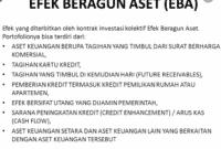 Efek Beragun Aset ( EBA )
