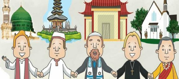 Macam-Agama-di-Indonesia